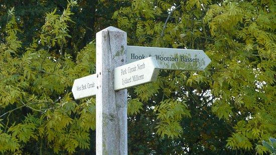 Swindon, UK : signpost