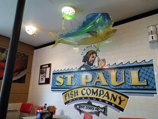 One Pound Steamed Maine Lobster, served with fries and coleslaw - Picture of St. Paul Fish ...