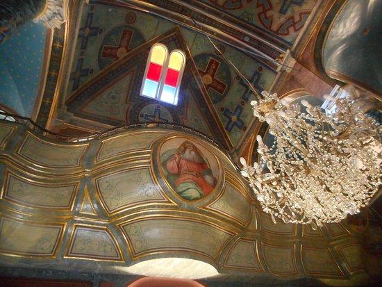 Syros, กรีซ: απεικόνιση του Θεού