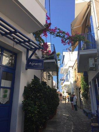 Glossa, Grekland: Agnanti Restaurant