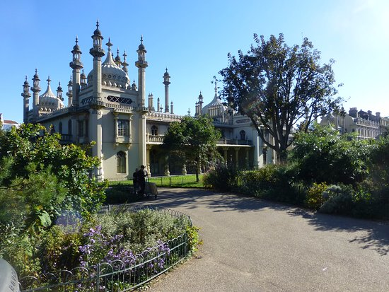 Royal Pavilion: Re-constructed gardens
