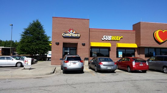 Subway, Washington Rd, Thomson, GA, July 2016