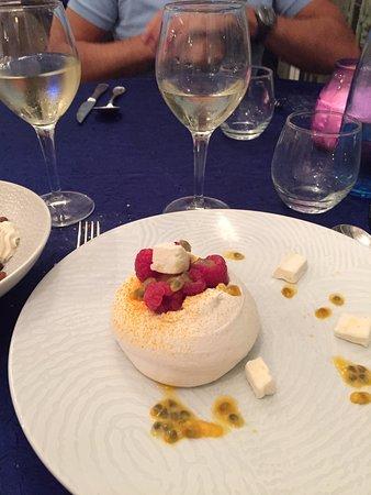 Maisons-Laffitte, Francia: dessert 1