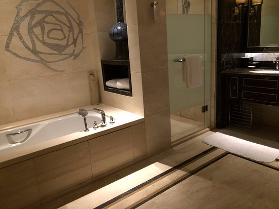 Huai'an, China: The bathroom alone is as large as many hotel rooms in China