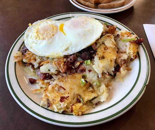 Jackson, MI: Hash with side of eggs