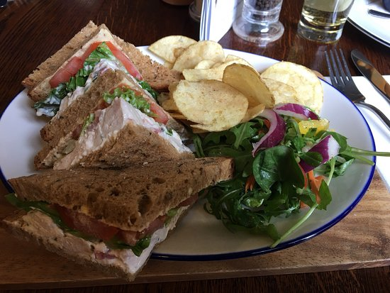 Whitchurch, UK: Light bite sandwich!