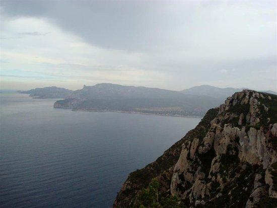 Provence, Frankrike: falaise de soubeyran
