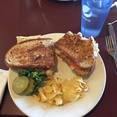 Wiscasset, เมน: Lobster Grilled Cheese