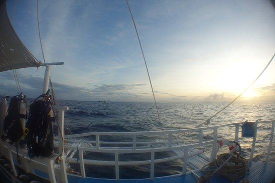 Malapascua Island, ฟิลิปปินส์: on route to Monad Shoal