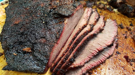 Purcell, OK: Sliced Brisket!