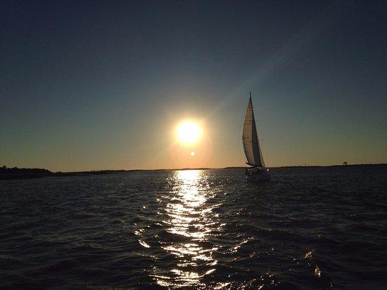 Fernandina Beach, FL: Amelia Island Sunset
