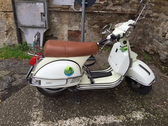 Tordandrea, Italia: The scooter !!!