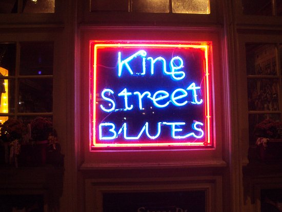 King Street Blues: Neon sign