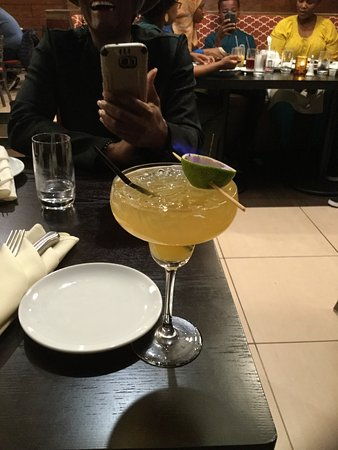 Beltsville, MD: Flaming Margarita