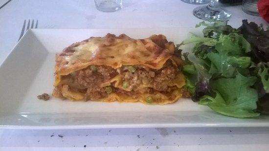 Robion, Frankrig: lasagnes