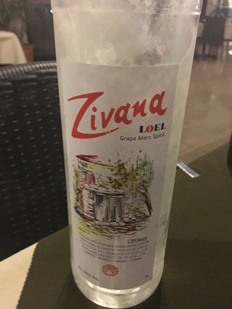 Dione Restaurant: Cyprus digestif