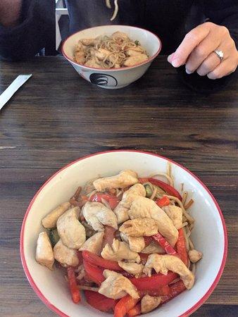 Stegte nudler - Fried Noodles with chicken