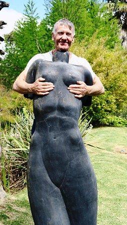 Robertson, جنوب أفريقيا: Garden is an inspiration