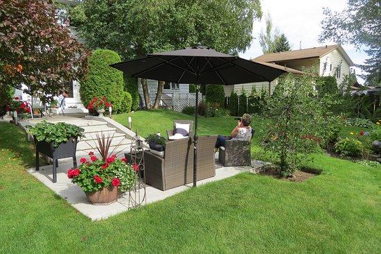 Prince George, Canada: Gepflegter Garten