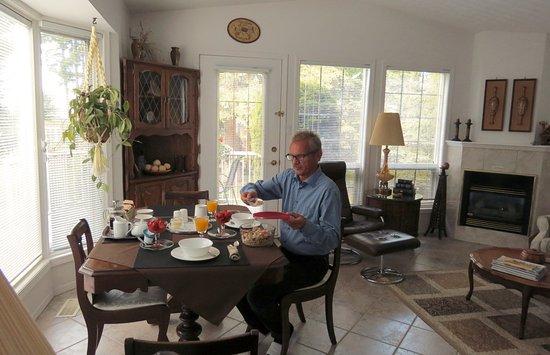 Принс-Джордж, Канада: Frühstück