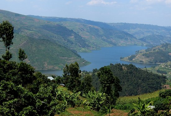 Lake Mutanda: Vista panoramica
