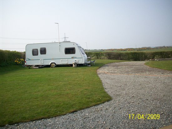 Rhosgoch, UK: 3 OF 5 GRASSED PITCHES