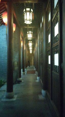 Yangzhou, Chine : One of the corridors