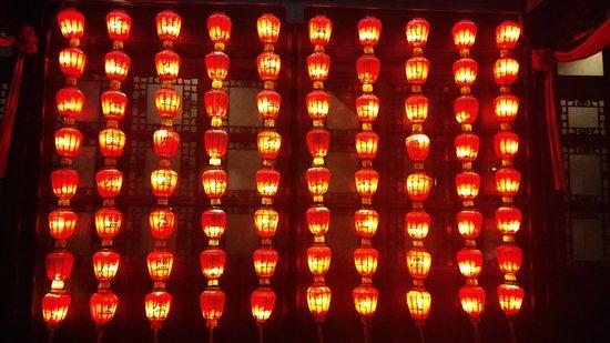 Yangzhou, Chine : The beauty of the lanterns