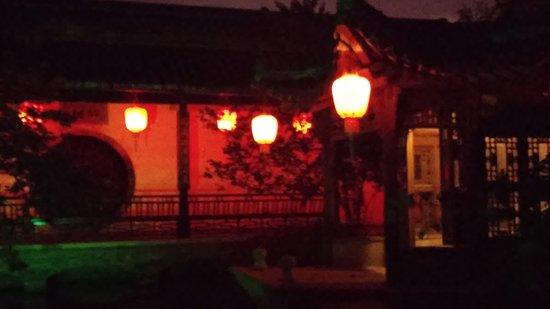 Yangzhou, Chine : Another yard and garden