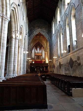 Hexham, UK: Por dentro da abadia