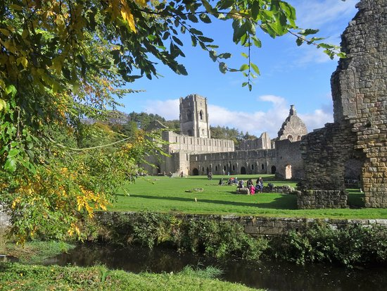 Ripon, UK: Stunning Fountains Abbey.