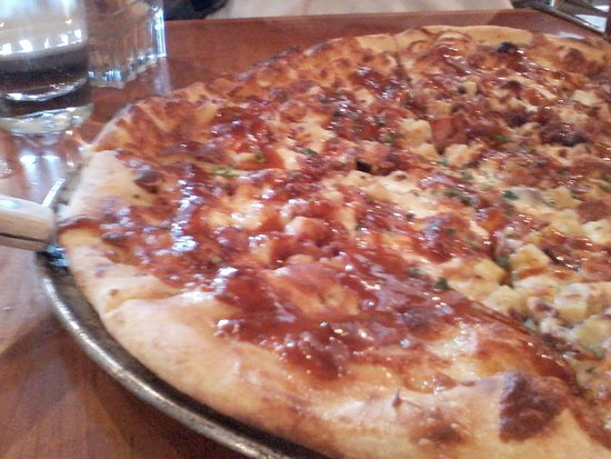 Missoula, MT: Sweet Potato, Bacon, Maple Chipotle Pizza