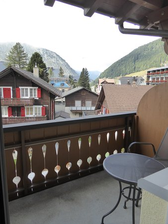 Andermatt, Svizzera: View from room