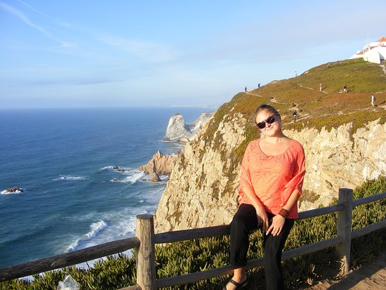 Colares, Portugal: A shot from the railing at Cabo da Roca