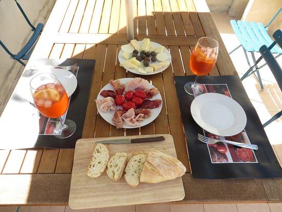 C'era Una Volta Scicli: Lunch on the terrrace