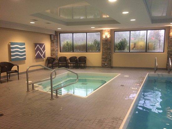 Invermere, Canadá: hot tub intérieur