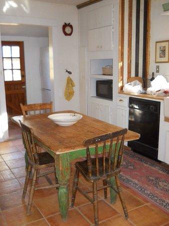 Winnemucca, NV: Køkken med spisebord