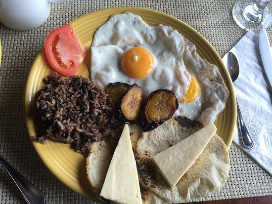 Villa Blanca Cloud Forest Hotel and Nature Reserve: Breakfast