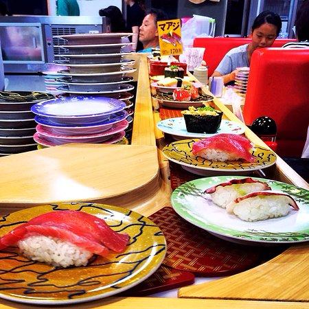 Amami, Japonia: Kaiten Sushi Manten