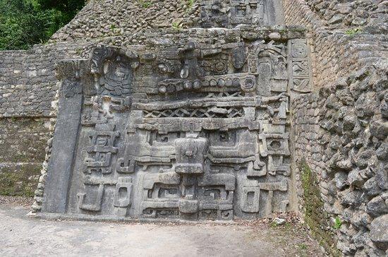 Cayo, Belize: Stone sculpture
