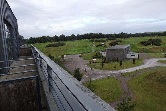 Castlemartyr, Irland: from balcony junior suite