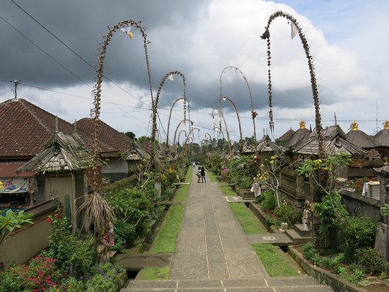 Bangli, Indonesia: The village