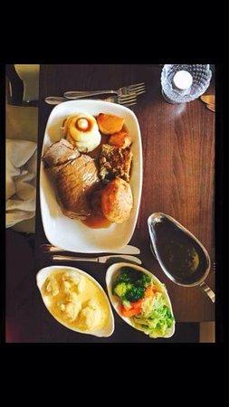 Guisborough, UK: Sunday lunch