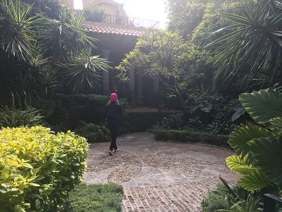 Hacienda El Santuario: Jardine y más jardines muy padres.