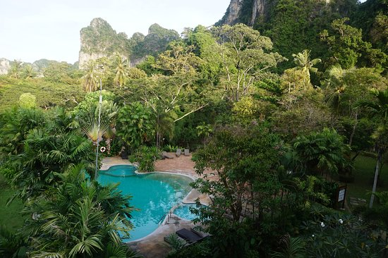 Railay Princess Resort and Spa: La piscina normal