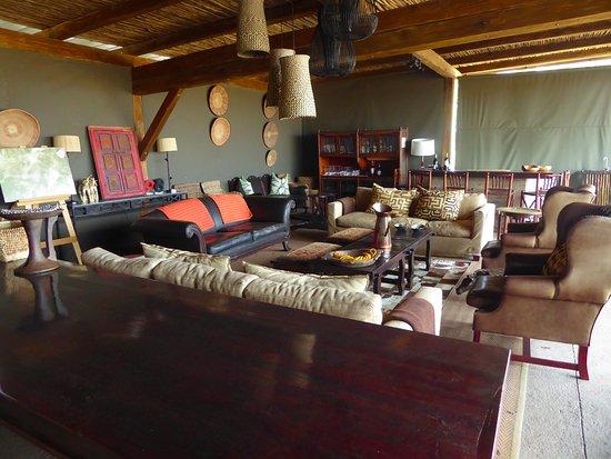 Parque Nacional de Hwange, Zimbabue: Lounge.