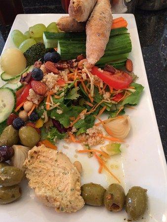 Greens Cafe & Bistro: Veggie lasting platter