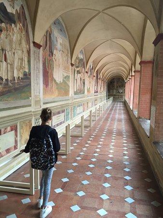 Asciano, Italien: Abbazia di Monte Oliveto Maggiore