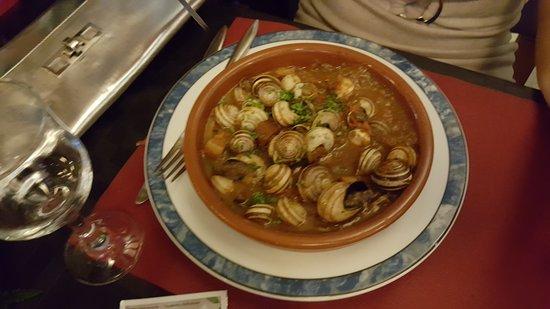 Sant Andreu de Llavaneres, Espanha: Restaurant Las Palmeras