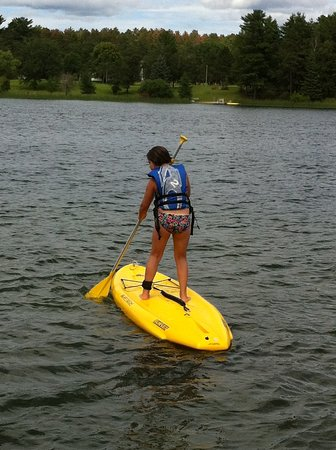 Park Rapids, MN : Paddle boarding